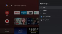 Realme Smart TV Audio Settings