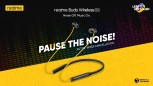 Noise-cancelling Realme headphones with high quality audio and low-latency support