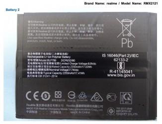 Realme X7 Pro batteries