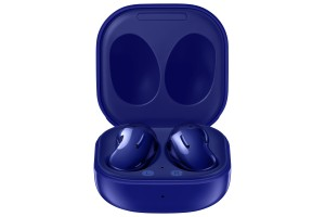 Galaxy Buds Live in Mystic Blue color