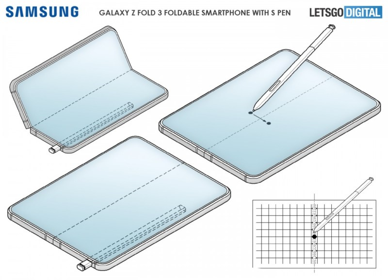 Samsung Galaxy Z Fold3 might be getting an S Pen, patent reveals