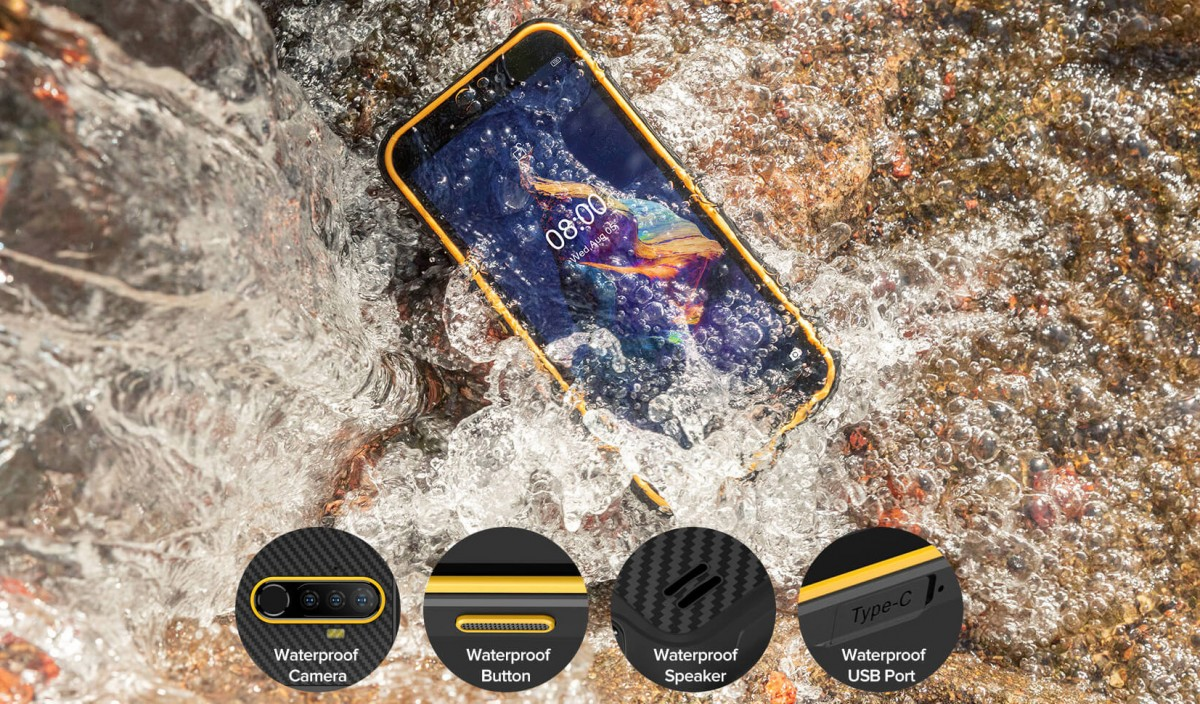 Ulefone Armor X8 is an entry-level rugged phone