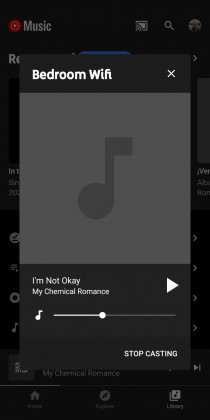 YouTube Music casting feature (Credit: 9to5Google)
