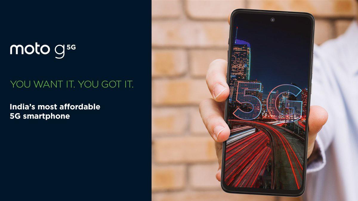 Moto G 5G arrives in India, sales begin December 7