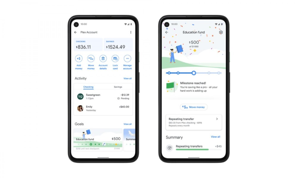 The new Google Pay looks like a chat app, Plex banking service launching in 2021