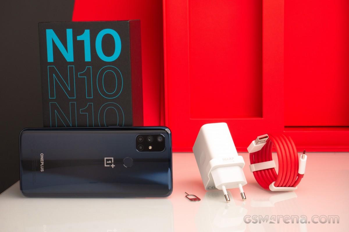 OnePlus Nord N10 5G untuk ditinjau