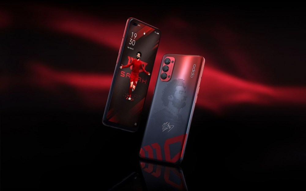 Oppo introduces customized Reno4 Mo Salah Edition smartphone