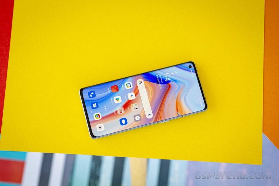 Oppo Reno4 Pro 5G and its 6.55