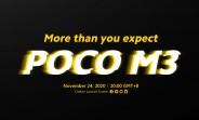 Lansarea Poco M3 pe 24 noiembrie