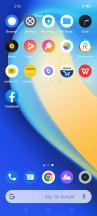 realme UI home screens and folders - Realme Narzo 20 Pro hands-on review