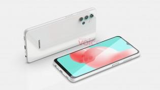Samsung Galaxy A32 5G CAD renders