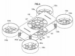 Sony drone design patent: quadcopter design