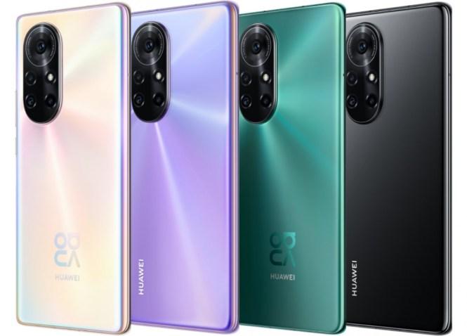 Huawei nova 8 and nova 8 Pro announced with Kirin 985 and 64MP quad cameras
