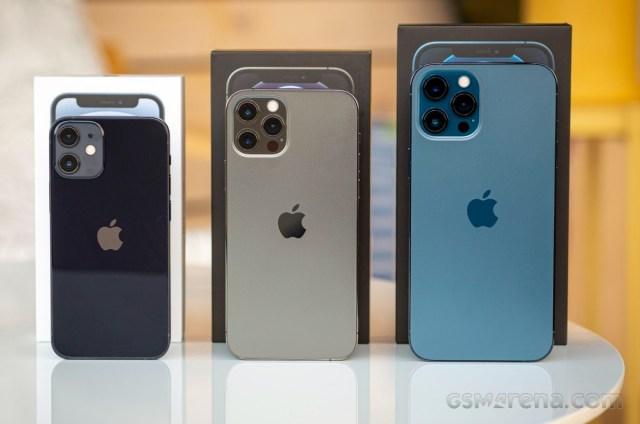 iPhone 12 mini, 12 Pro, 12 Pro Max
