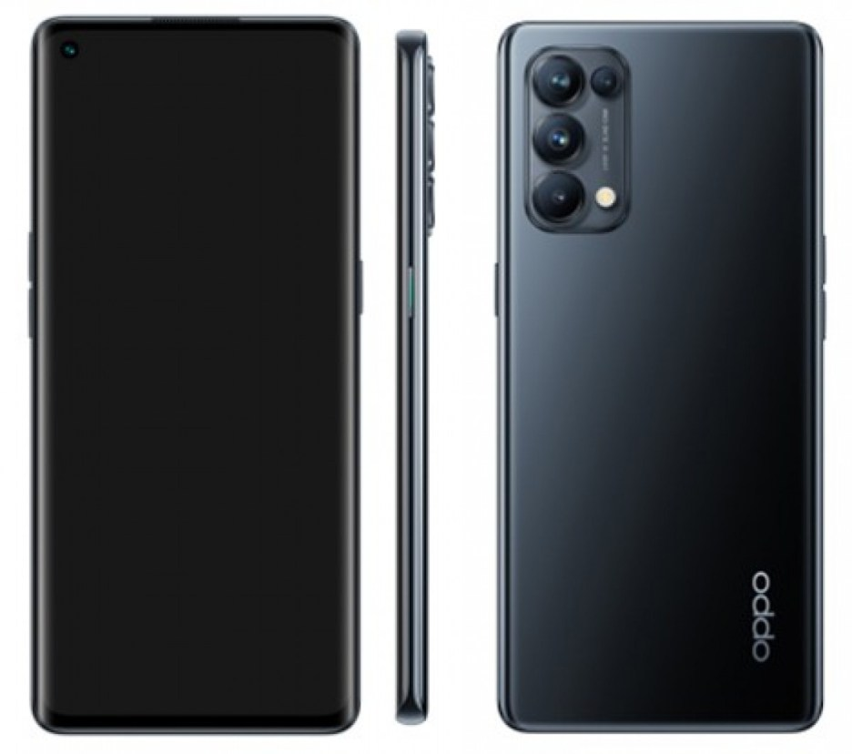 Reno5 5G and Reno5 Pro 5G renders look identical