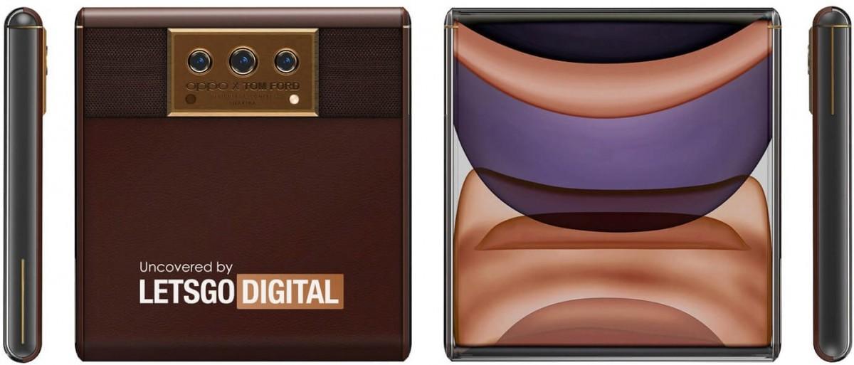 Oppo X Tom Ford slider phone surfaces