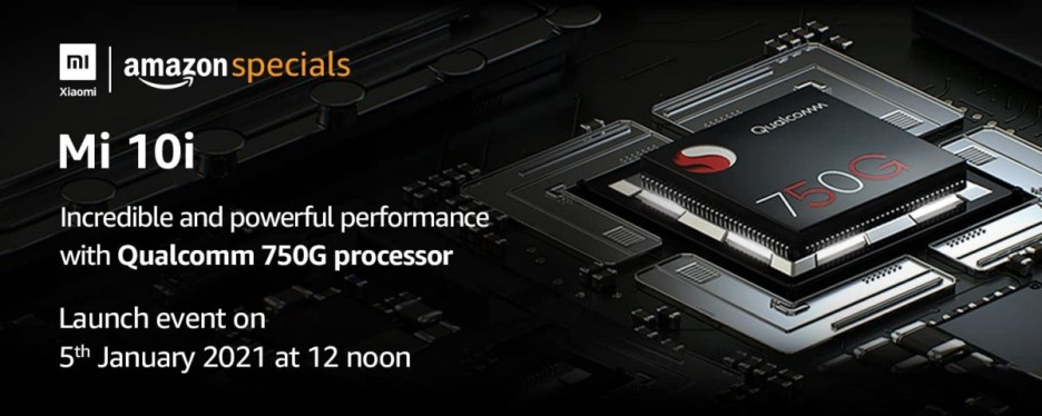 The Xiaomi Mi 10i will be powered by a Snapdragon 750G chipset, with ''brand new'' 108 MP sensor