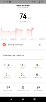 Heart rate monitoring on Amazfit Stratos 3