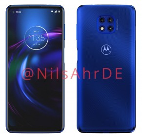 Motorola Moto G Power (2021): render bocor