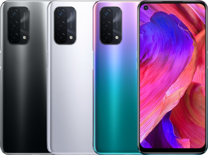 Oppo A93 5G announced: Snapdragon 480 SoC, 90Hz screen, and 5,000 mAh battery