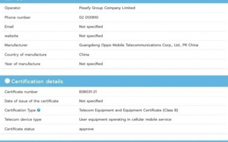 Oppo A94 gets certified with 30W charging