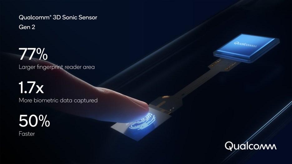 Qualcomm announces 3D Sonic Sensor Generation 2, compatible with foldables