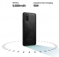 5,000 mAh battery with 15W charging