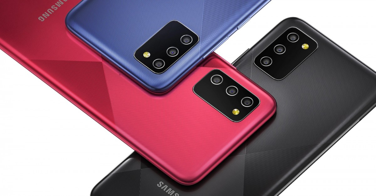 Samsung Galaxy M02s is official with big battery and aggressive price -  GSMArena.com news