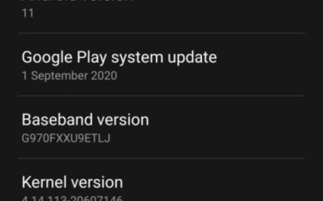 Android 11 and One UI 3.0 update is now live for Galaxy S10 series
