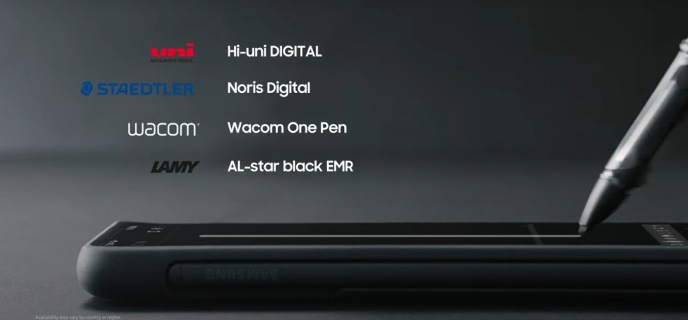 Samsung unveils new S Pen Pro, announces support for third-party styluses