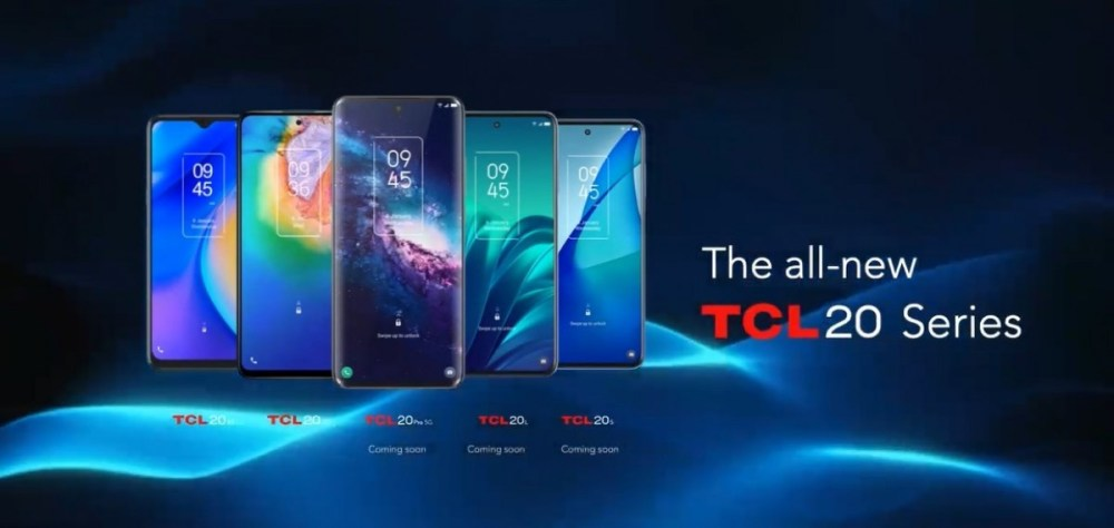 TCL 20 5G and TCL 20 SE are new affordable smartphones for entertainment