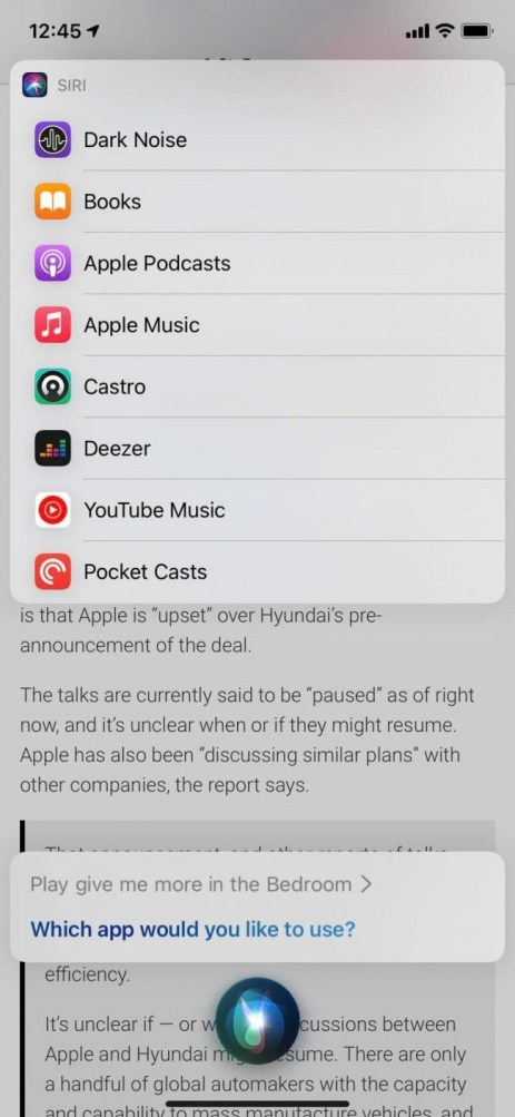 Apple's iOS 14.5 beta lets you set third-party music apps as default player for Siri