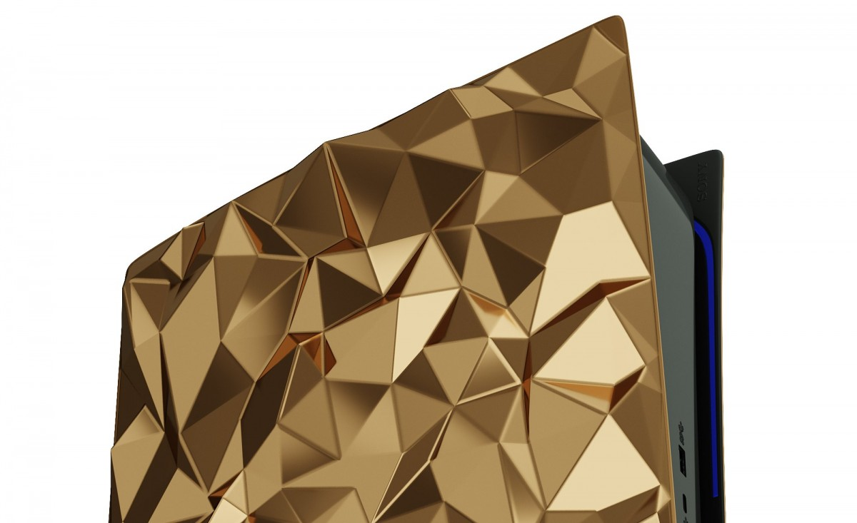 Caviar custom PlayStation 5 will cost $500,000, will be covered with 4.5 kg of gold