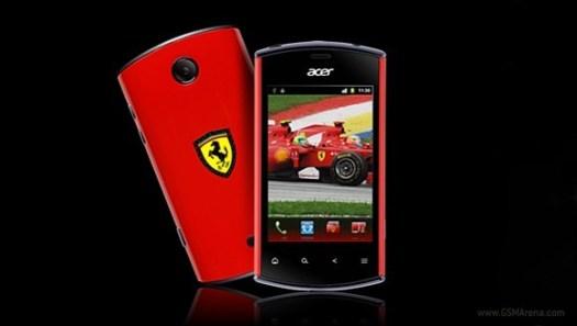 Acer Liquid mini E310 Ferrari Special Edition