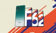 Samsung Galaxy F62 with 7,000 mAh battery announced