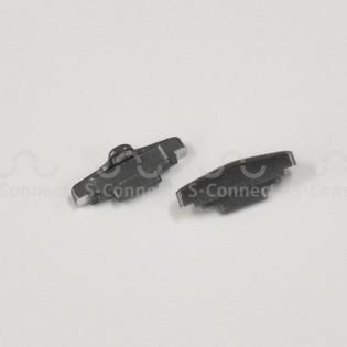 Pieces of Z Flip's hinge mechanism