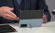 Huawei Mate X2's official unboxing video shows off the phone and its rich sales package