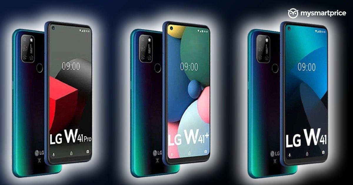 LG seri W41 masuk dengan tiga ponsel