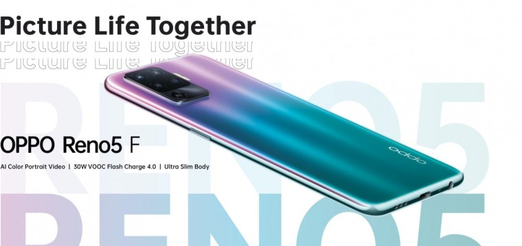 Oppo teases Reno5 F with entirely new looks
