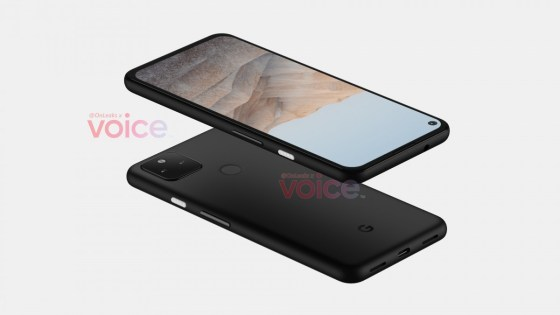 The Google Pixel 5a leak features a familiar design