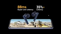 Buds Air 2 have the lowest latency amongst Realme's current wireless earphones