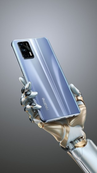 Realme GT 5G glass back variant