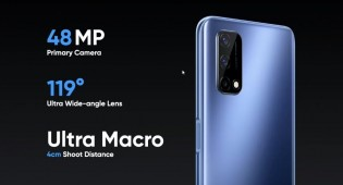 The Narzo 30 Pro is equipped with a 48 MP main cam, 8 MP ultra wide and a 16 MP selfie camera