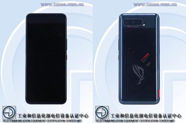 Asus ROG Phone 5 from TENAA certification