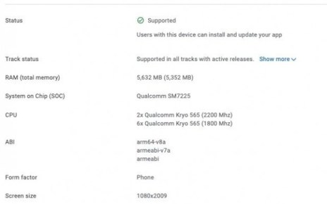 Samsung Galaxy A52 5G appears on Google Play Console, confirms Snapdragon 750G chipset