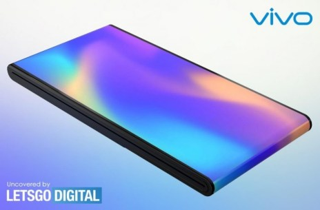 vivo patents a flip phone with an outward folding screen