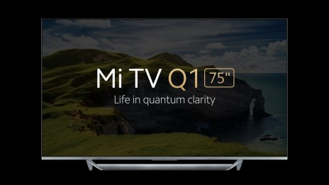 "Xiaomi Mi TV Q1 75"" announced"