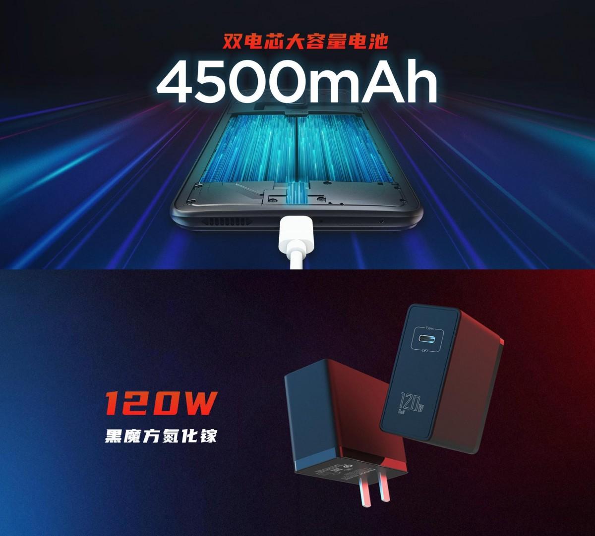 nubia Red Magic 6 akan mengisi daya dari 0 hingga 50% dalam 5 menit