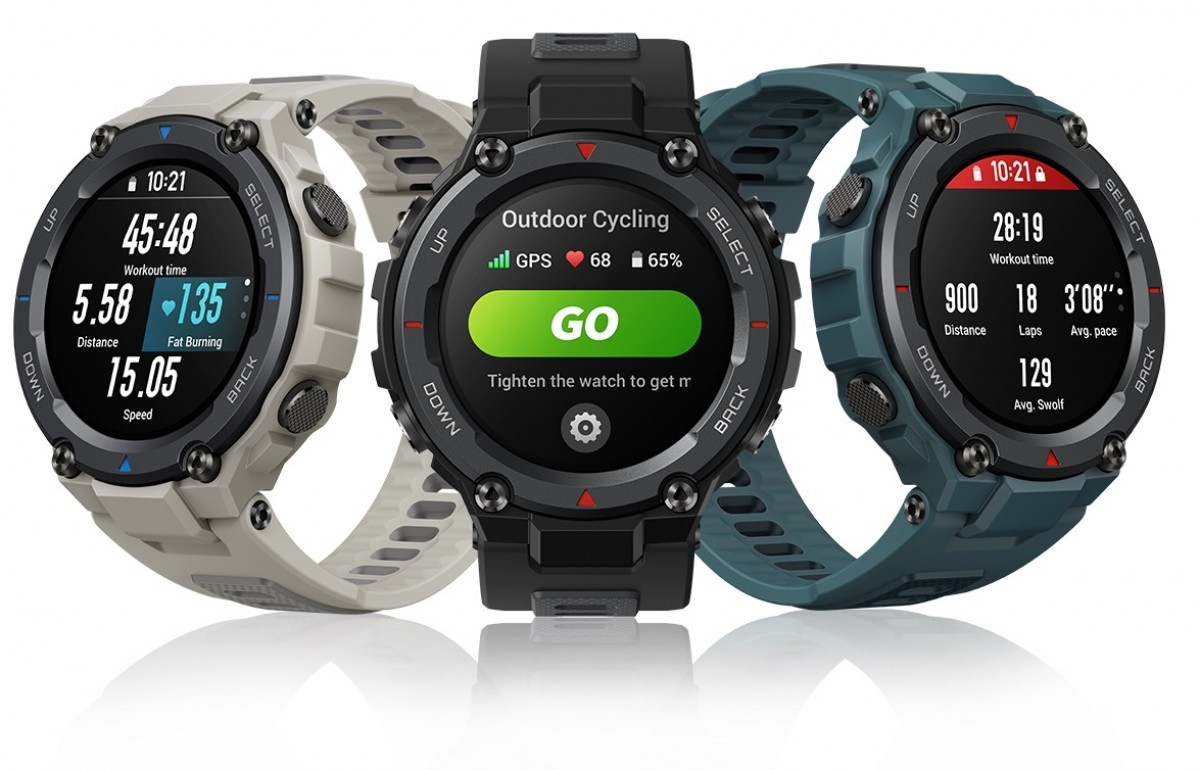 Amazfit T-Rex Pro goes global with 10ATM water resistance and improved heart rate tracking