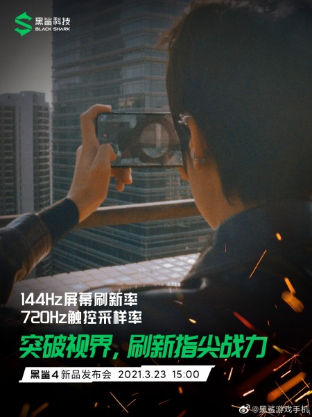 Black Shark 4 series will feature 6.67″ 144Hz AMOLED screen